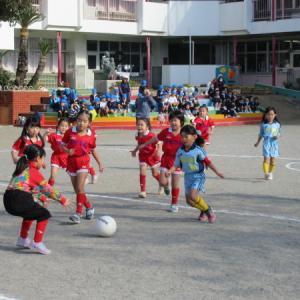 サッカー大会 女子の部予選会開催