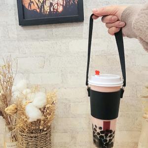 飲み歩きに便利なカップドリンクホルダー『カップwith』