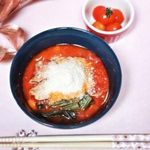 おうちで太陽のトマト麺ランチ♡
