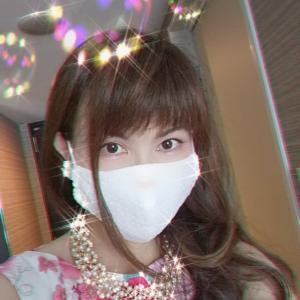 【お客様の声】ピンクのドレス着てレースマスクしてみました♡