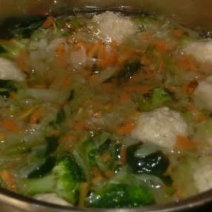 今夜のメイン;食べるスープ