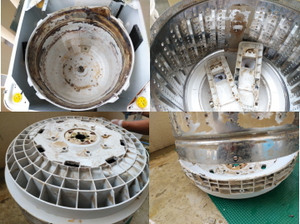 宜野湾市でエアコン・洗濯機クリーニング