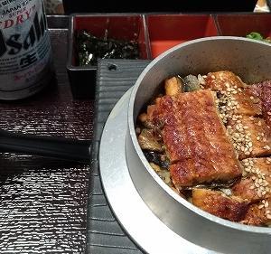 ライドオンエクスプレスの釜寅でうなぎまぶしを食べてみた。