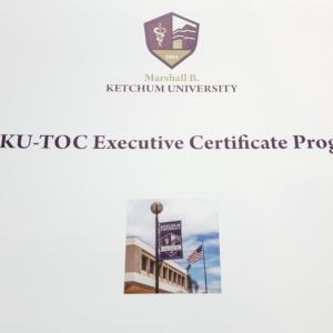 ケッチャム大学・TOC上級通信講座に入学