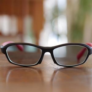 偏光度付きサングラス、上下プリズム入
