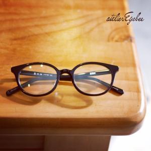 丸みのあるメガネ