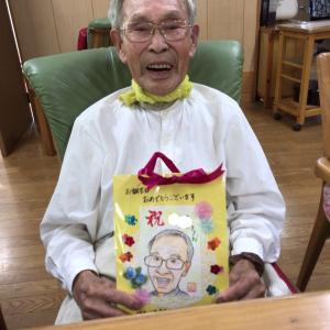 誕生日プレゼントにがお絵(9月)