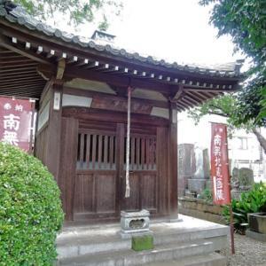 大圓寺の地蔵堂(杉並区和泉)