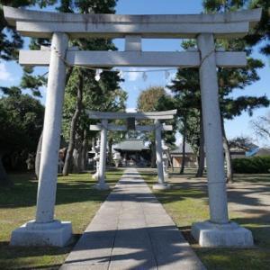 宇奈根氷川神社の庚申塔(世田谷区宇奈根)