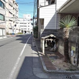 路傍の小地蔵(練馬区旭丘)
