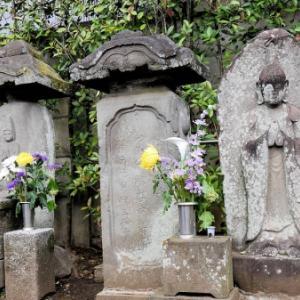 浄光寺の石仏・庚申⓶(世田谷区世田谷)