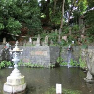 目黒不動龍泉寺の庚申石仏(1)(目黒区下目黒)