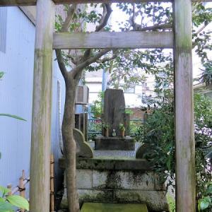 平塚の碑と平塚橋の碑(品川区荏原)