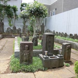 専修寺の庚申塔(品川区荏原)