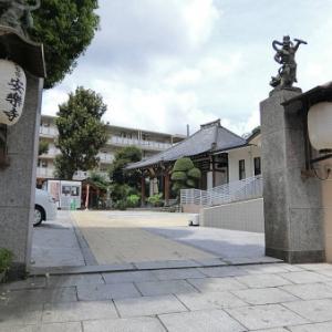 安楽寺の石仏(品川区西五反田)