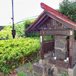 石神井川傍の庚申塔(北区王子)