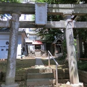 日枝神社庚申塔(北区十条仲原)