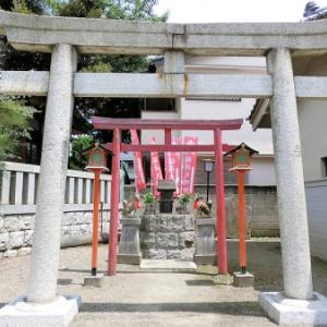 柏木神社稲荷大明神石祠(北区神谷)