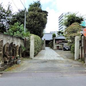 自性院境内の庚申塔(北区神谷)