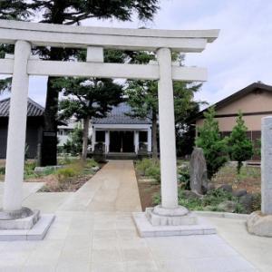 西熊野神社の庚申塔(板橋区前野町)