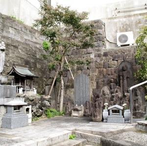 妙清寺の石仏(文京区白山)