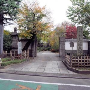 南蔵院の庚申塔・石仏(豊島区高田)