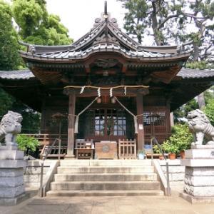 東玉川神社の庚申塔(世田谷区東玉川)