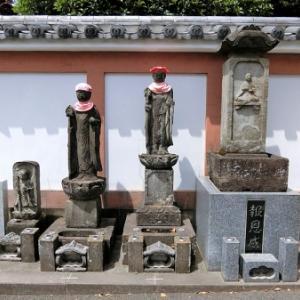 円明院の石仏(2)(練馬区錦)