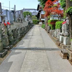 阿弥陀堂の石仏(練馬区北町)