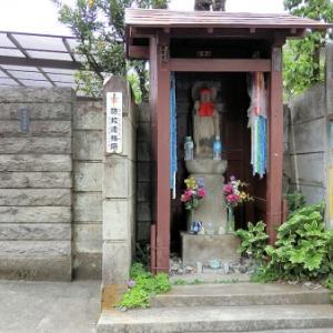 西貝家の地蔵尊(練馬区中村北)