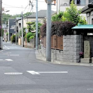 横山家の庚申塔(練馬区桜台)