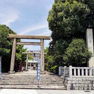 石浜神社の庚申塔(荒川区南千住)