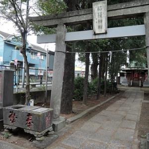 下今井稲荷神社の庚申塔(江戸川区江戸川)