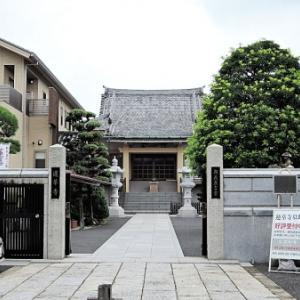 蓮華寺の石仏(江戸川区江戸川)
