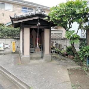 上今井無名の地蔵堂(江戸川区江戸川)