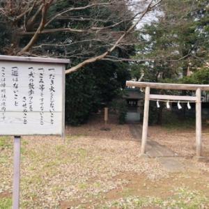 祖師谷熊野神社跡の庚申塔(世田谷区祖師谷)