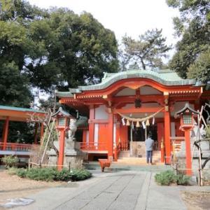 自由が丘熊野神社の庚申塔(目黒区自由が丘)