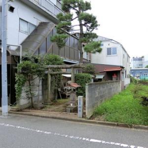 上用賀三峯神社の庚申塔(世田谷区上用賀)