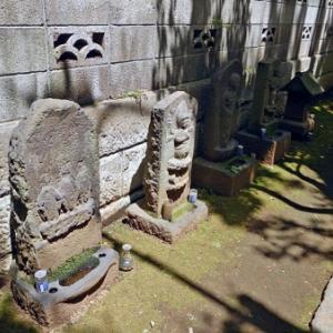 代々木八幡福泉寺の石仏(渋谷区代々木)