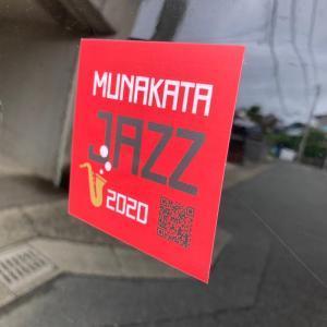 MUNAKATA JAZZ2020ステッカー出来ました♪