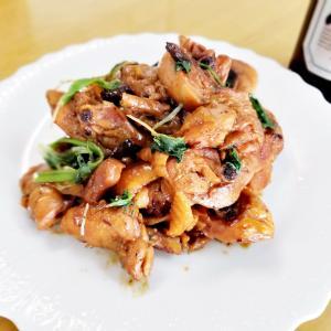 骨付きの鶏ももの簡単調理法(^_-)-☆