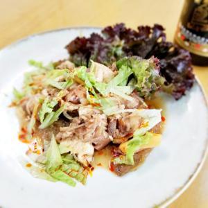 豚頭肉とカレー風味の野菜煮込み(^_-)-☆