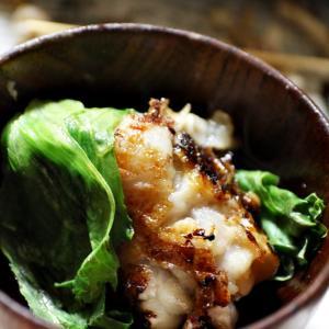 玉レタスと豚足の夕食(^_-)-☆