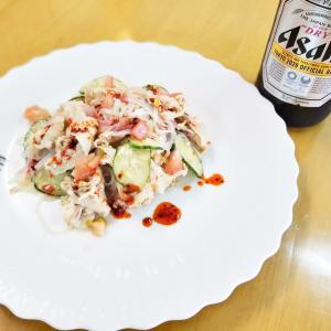 夏季の冷菜(^_-)-☆