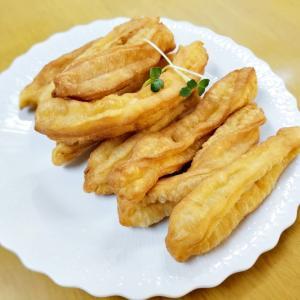 朝食の定番『油条』(^_-)-☆