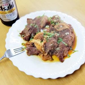 『牛肉と豆腐の煮込み』(^_-)-☆