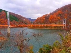 九頭竜湖の秋