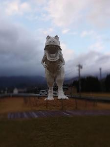 恐竜が‼️