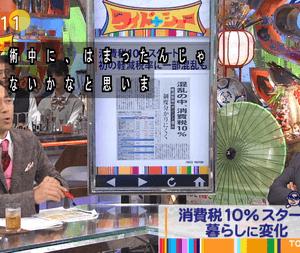 【ワイドナショー】松本人志「軽減税やキャッシュレスポイント還元で増税への気持ちをずらす術中にハマった感じがすごくする。」