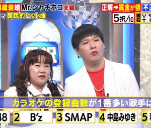 【クイズ倍買】Mr.シャチホコ&みはるに出された国民的ヒット曲の問題と答え